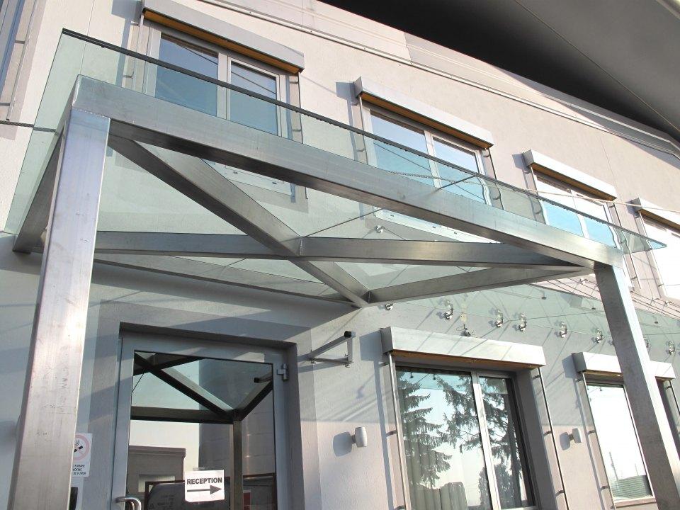 Pensilina In Vetro Architetto Torino Studio Tekidea